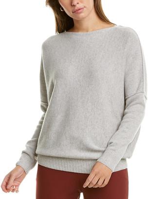 Lafayette 148 New York Bateau Neck Cashmere Sweater