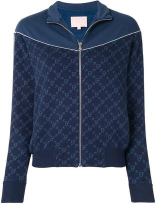 Bapy Intarsia-Knit Zipped Jacket