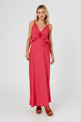 Finders COCO CABANA MAXI DRESS Strawberry