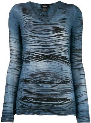 Avant Toi abstract-print jumper