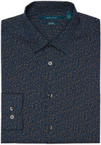 Perry Ellis Slim Fit Splatter Print Shirt