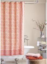 Jessica Simpson Mosaic-Tile Shower Curtain