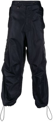 Random Identities Drawstring Waist Trousers
