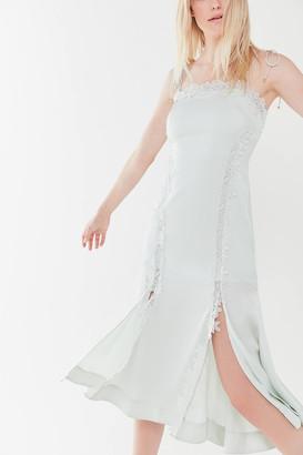 Keepsake Resound Tie-Shoulder Midi Dress