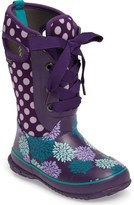 Bogs Casey Pompons and Dots Waterproof Boot (Toddler, Little Kid & Big Kid)