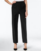 Alfred Dunner Pull-On Ankle Pants