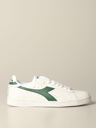 Diadora Sneakers Game L Low Waxed Sneakers In Textured Leather