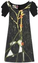 Prada Floréal printed crêpe dress