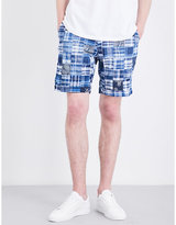 Polo Ralph Lauren Patchwork Classic-fit Cotton Shorts