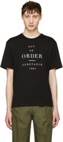 Christian Dada Black out Of Order T-shirt