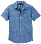Tommy Hilfiger Dexter Short Sleeve Printed Shirt (Big Boys)