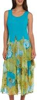 Kaktus Women's Convertible Floral Spring Plus Size Maxi Dress