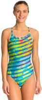 Arena Citrus One Piece Swimsuit Light Drop Back 8121608