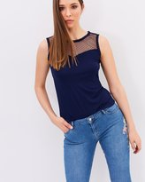 Dorothy Perkins Tie Back Detail Shell Top