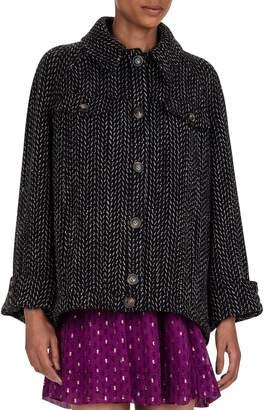 BA&SH Andy Cotton Wool-Blend Jacket