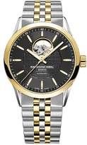 Raymond Weil Men's 'Freelancer' Swiss Automatic and Stainless Steel Casual Watch, Color:Two Tone (Model: 2710-STP-20021)