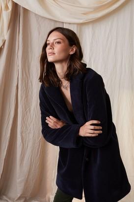 Velvet by Graham & Spencer Trishelle Lux Sherpa Oversized Coat