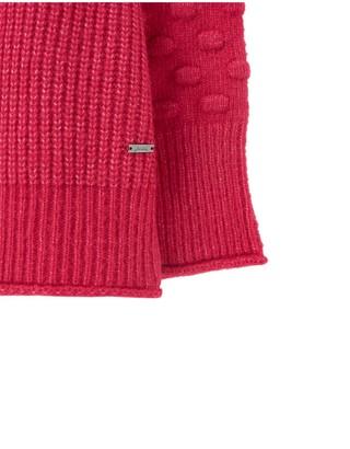 Joules Kalia Bubble Stitch Sleeve Jumper - Pink