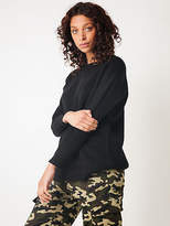 New Beyondher Oversized Knit Jumper In Black Womens Sweaters & Jumpers