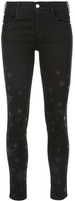 Stella McCartney Star Print Skinny Jeans