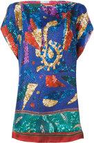Pierre Louis Mascia Pierre-Louis Mascia sequin detail blouse