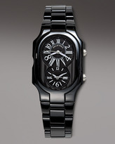 Philip Stein Teslar Ceramic Watch, Black