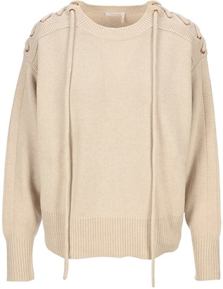 See by Chloe Drawstring Shoulder Jumper