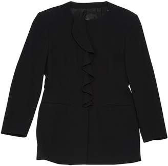 Armani Collezioni Black Synthetic Jackets