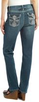 Earl Jean Blue Medium Wash Straight Leg Jeans