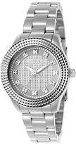 Invicta Angel Women's Quartz Watch with Silver Dial Analogue Display and Silver Stainless Steel Bracelet - 22877