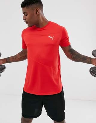 Puma ignite performance T-shirt in red
