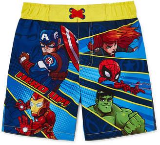 Trunks Superheroes Boys Avengers Swim Toddler