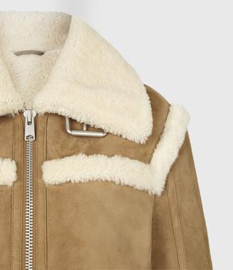 AllSaints Kitt Shearling Jacket