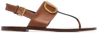 Valentino VLOGO thong-strap sandals