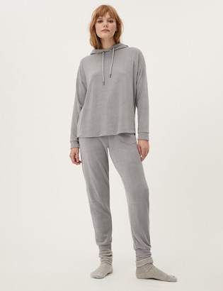 Marks and Spencer Velour Cuffed Joggers