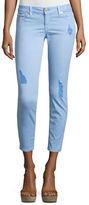 MICHAEL Michael Kors Distressed Denim Skinny Jeans