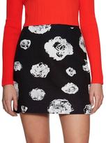 Proenza Schouler Graphic Printed Mini Skirt