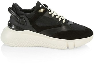 Buscemi Veloce Tonal Leather Sneakers