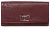 Fossil Dawson Leather Clutch Wallet