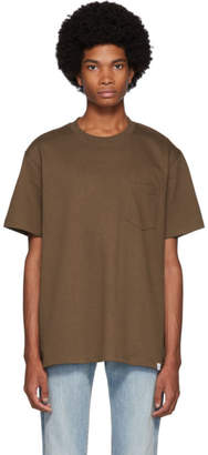 Norse Projects Brown Joannes Pocket T-Shirt