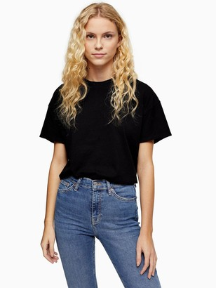 Topshop Weekend T-Shirt - Black