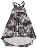 Calvin Klein Jeans Girls 7-16 Girls Printed Hi-Lo Dress