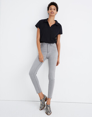 "Madewell 10"" High-Rise Skinny Crop Jeans in Salem Wash"