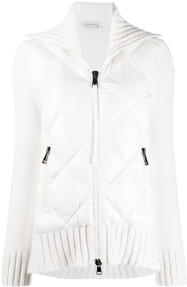 Moncler Quilted Zip-Front Jacket