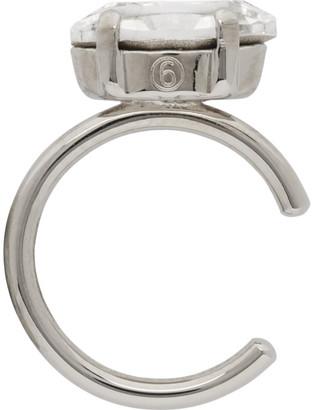 MM6 MAISON MARGIELA Silver Polished Ear Single Cuff