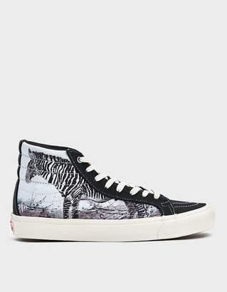 Vans Vault By Sk8-Hi LX Sneaker in Zebra