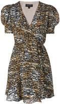 Saloni Ink Tiger dress