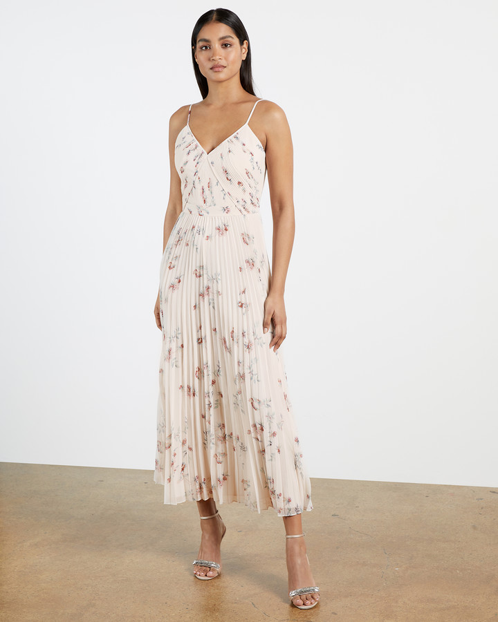 Thumbnail for your product : Ted Baker IANTHE Pleated midi dress