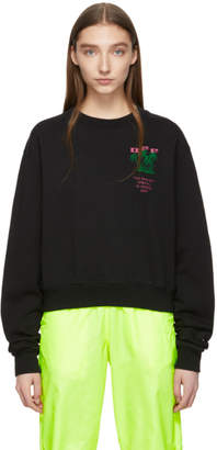 Off-White Off White Black and Green Island Sweatshirt