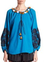 Figue Coco Embroidered Top